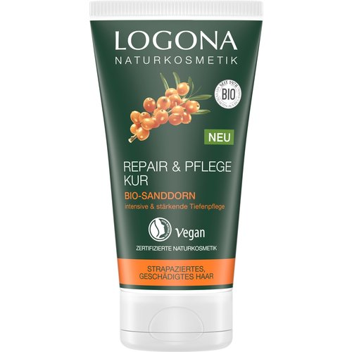 Logona Repair & care hair mask organic sea buckthorn 150ml