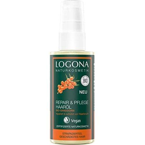Logona Repair & care hair oil organic sea buckthorn 75ml