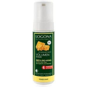 Logona Volumising mousse beer & organic honey 150ml