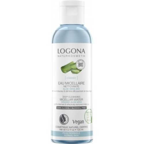 Logona Classic Deep cleansing micellar water organic aloe vera 125ml
