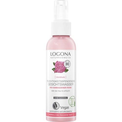 Logona Moisture moisturizing facial toner organic damask rose 125ml