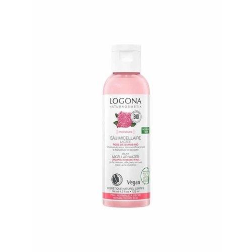 Logona Moisture nourishing micellar water organic damask rose 125ml