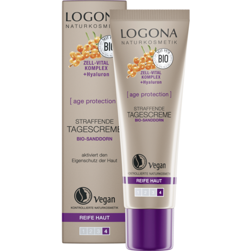 Logona Age protection firming day cream bio sea buckthorn 30ml
