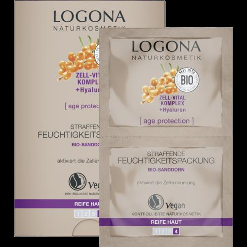 Logona Age protection firming moisture mask bio sea buckthorn 15ml