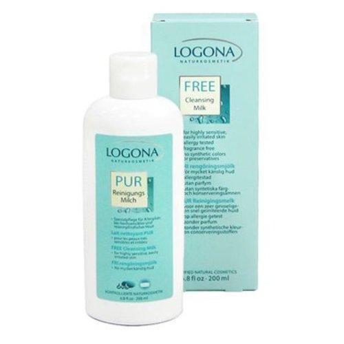 Logona Free cleansing milk kind to sensitive skin 200ml