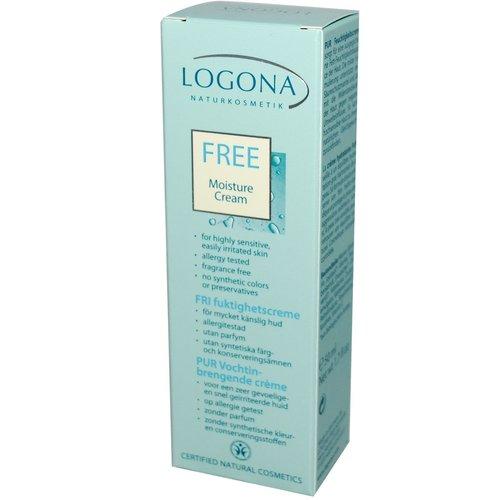 Logona Free moisture cream kind to sensitive skin 50ml