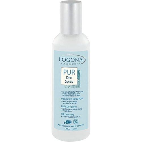 Logona Free deo spray for lasting freshness 100ml