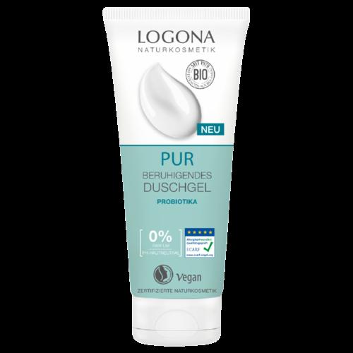 Logona Pur soothing shower gel probiotics & natural hyaluronic acid