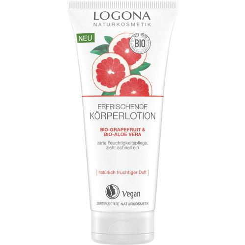 Logona Refreshing body lotion bio-grapefruit & aloe vera 200ml