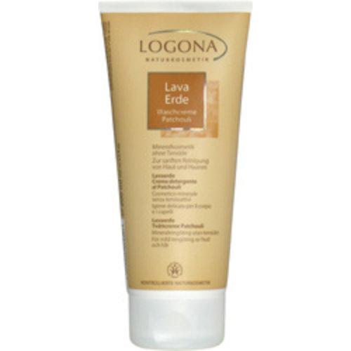 Logona Rhassoul patchouli wash cream practical to use 200ml