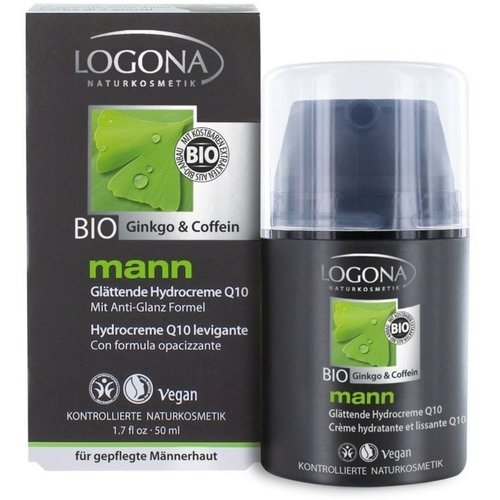 Logona man smoothing hydro cream Q10 50ml