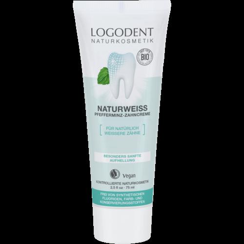 Logona Natural white peppermint toothpaste 75ml