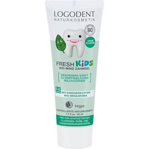Logona Fresh kids mint toothgel 50ml