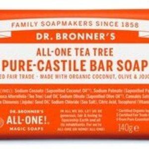 Dr Bronners barsoap  tea tree 140gr
