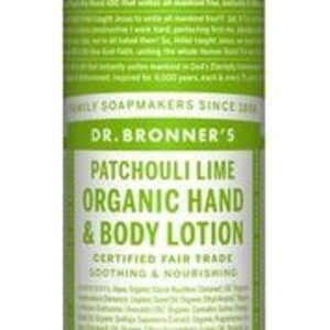 Dr Bronners Bodylotion patchouli limoen 240ml