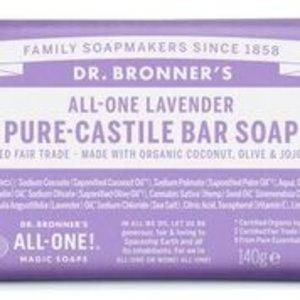 Dr Bronners barsoap lavendel 140gr