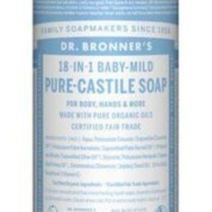 Dr Bronners Magic pure castile soap baby mild 475ml