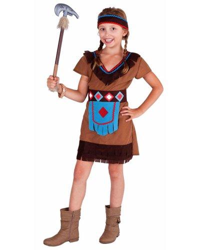 magicoo Buntes Indianer Kostüm für Mädchen