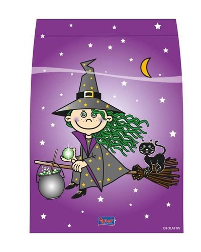 """magicoo Partytüten """"Kleine Hexe"""" für Halloweenparty"""