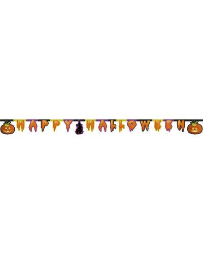 """Magicoo Halloween Wimpelgirlande """"Happy Halloween"""""""