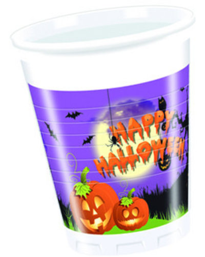 "Magicoo ""Happy Halloween"" Partybecher - 8 Stück"