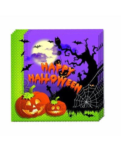 Magicoo Halloween Servietten - 20 Stück - 33x33 cm