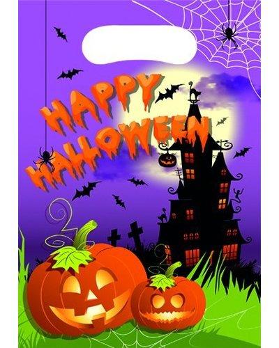 Magicoo Halloween Partytüten - Geschenktüten für Gäste  - 6 Stück