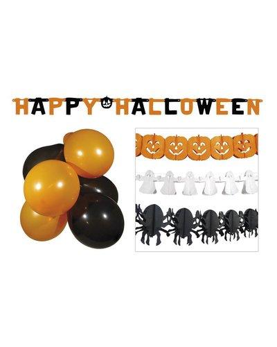 Magicoo Halloween Partyset - Luftballons und Girlanden