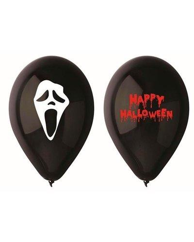 "Magicoo 5 Luftballons ""Scream"" für Halloween-Party"
