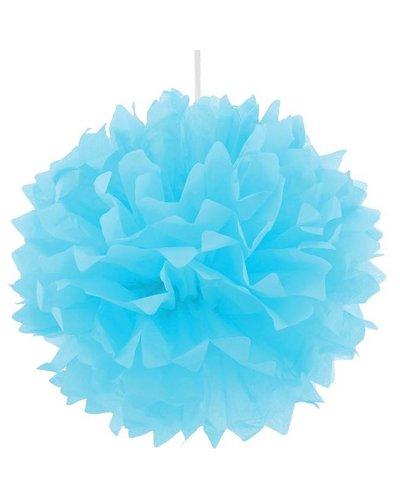 Magicoo Pom Pom Dekoball blau - 40 cm