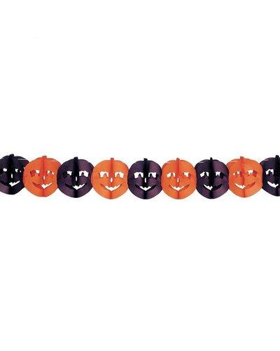 Magicoo Halloween Girlande mit Kürbissen - 20 x 300 cm