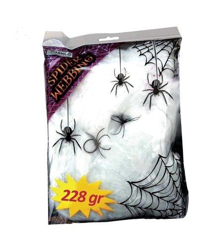 Magicoo Künstliche Spinnenweben für Halloween-Dekoration