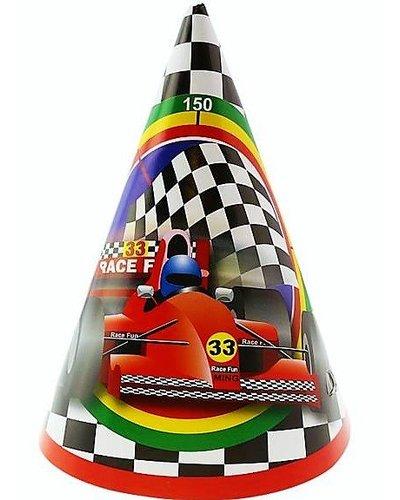 Magicoo Partyhüte  Autos - Formel 1 - 6 Stück