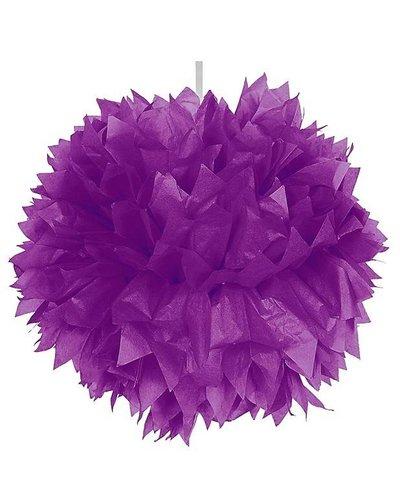 Magicoo Pom Pom Dekoball lila - 30 cm
