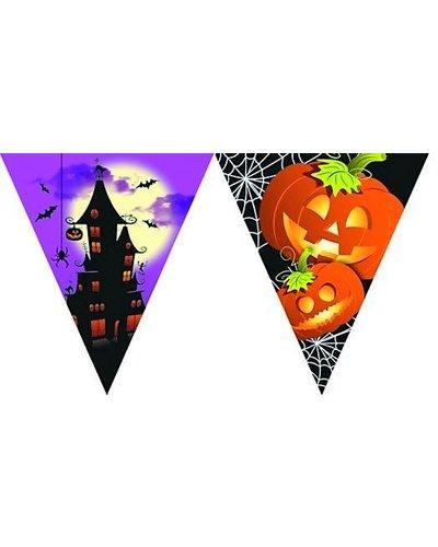 """Magicoo """"Happy Halloween"""" Wimpelgirlande mit Flaggen"""