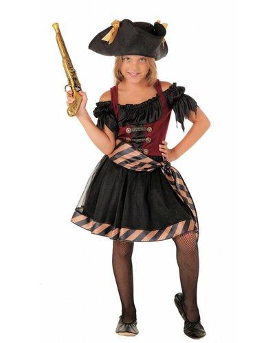 Magicoo Piraten Kapitän Kostüm Mädchen