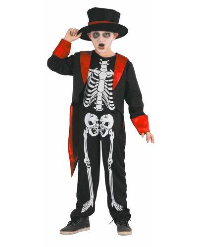 Magicoo Skelett Gentleman - Skelett Kinderkostüm