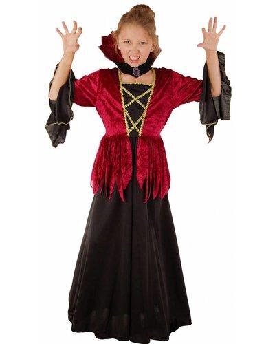 Magicoo Königliche Vampirin - Vampirkleid mit Kragen