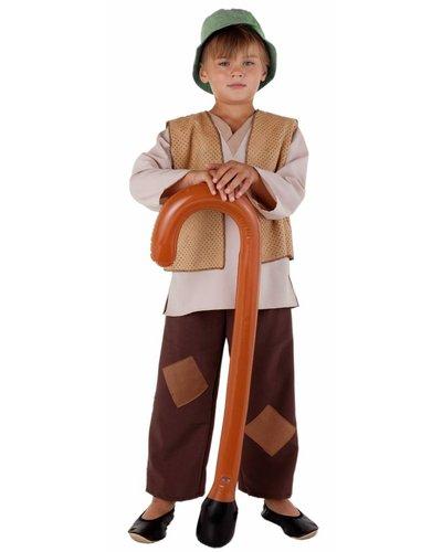 Magicoo Hirtenkostüm für Jungen mit beige-braun