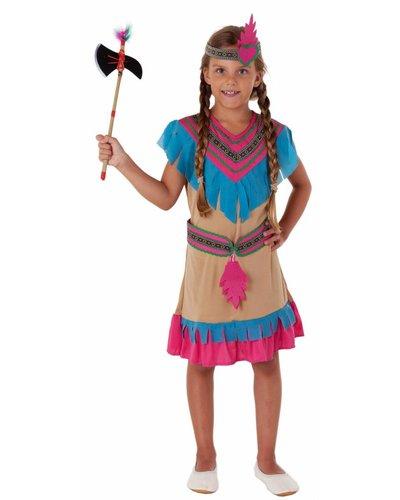 Magicoo Indianer Prinzessin Kostüm für Mädchen