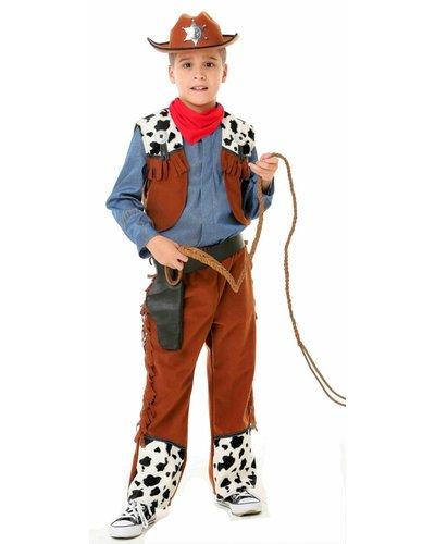 Magicoo Komplettes Cowboy Kostüm für Kinder Jungen
