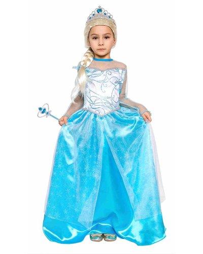 Magicoo Eisprinzessin Kleid für Mädchen