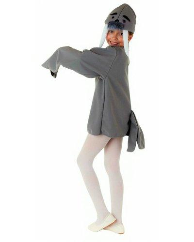 Magicoo Seelöwe Kostüm für Kinder grau
