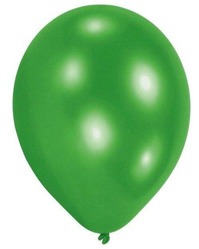 Magicoo 10 Latexballons in Grün ca. 20,3 cm