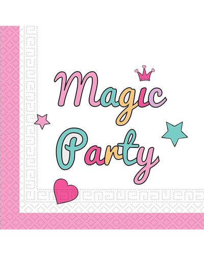 "Magicoo 20 Servietten - ""Magic Party"""