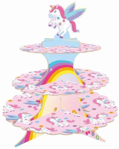 """Magicoo Cupcake-Ständer & Muffinständer """"Magisches Einhorn"""""""