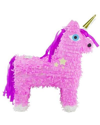 magicoo Einhorn Pinata rosa mit goldenem Horn