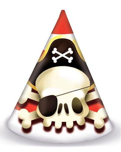 "Magicoo Partyhüte ""Piraten"" - 6 Stück"