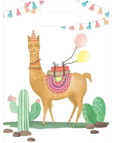 "Magicoo Partytüten ""Lama"" - Geschenktüten - 6 Stück"