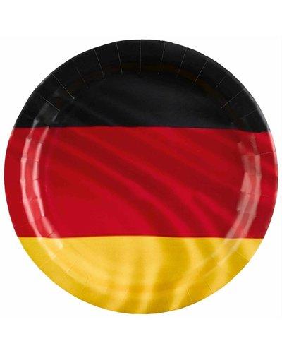"""Magicoo Fußballparty Teller """"Deutschland"""" - 23 cm"""